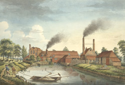 View of the Copper Mills on Twickenham Common 19.ee